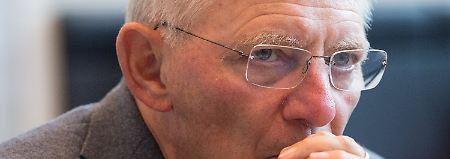 """Keine Alternativen für Griechenland: Schäuble sieht """"noch viele Anstrengungen"""""""