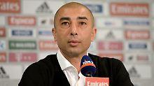 War's das auf Schalke? Trainer Roberto Di Matteo.