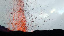 Seltene Arten bisher nicht bedroht: Vulkan auf den Galápagos-Inseln bricht aus