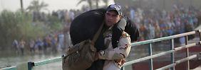 Streit um Kampfmoral der Iraker: Al-Abadi kontert Pentagon-Kritik