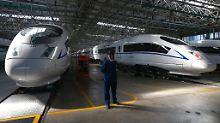 Chinesische Hochgeschwindigkeitszüge von CNR.