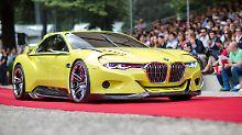 Leider ist der BMW 3.0 CSL nur eine Studie für den Concorso d'Eleganza Villa d'Este.