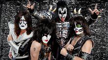 """Kiss laden zum Live-Spektakel: """"Wir sind nicht die Rolling Stones"""""""