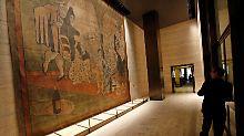 So viel Theater um einen Vorhang: Größter Picasso der USA zieht um