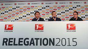 Relegations-Hinspiel HSV vs. KSC: Optimismus macht sich breit