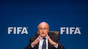 """Ex-Vize Warner feiert Freilassung: Fifa-Chef Blatter spricht von """"Einzeltätern"""""""