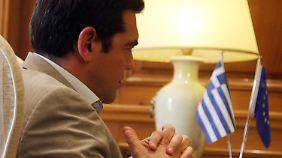 """Tsipras bei Juncker: Griechen erhalten das """"letzte Angebot"""""""