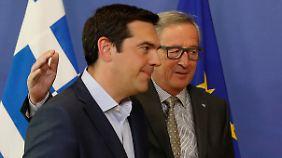Spitzentreffen zu Griechenland: Gefeilsche geht trotz Annäherung weiter