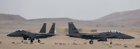 Israel führt in der Negev-Wüste immer wieder militärische Operation durch.