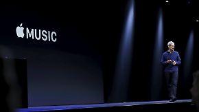 """"""" Neues Kapitel Musikgeschichte"""": Apple stellt Streaming-Dienst vor"""