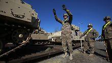 Abschreckung gegen Russland: USA erwägen Panzer-Stationierung im Osten