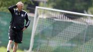 Und das ist der Chef des Ganzen: Horst Hrubesch ist seit Juni 2013 Trainer der U21.