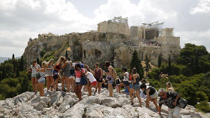 Im Vergleich zur Lösung der Griechenland-Krise ist der Aufstieg auf die Akropolis ein Kinderspiel.