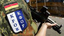Die Bundeswehr bleibt ein weiteres Jahr im Kosovo.