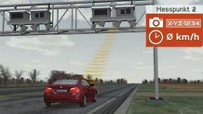 Komplettüberwachung stößt auf: Section Control erfasst jedes vorbeifahrende Fahrzeug