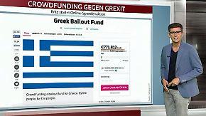 Crowdfunding für Griechenland: Zehntausende spenden online