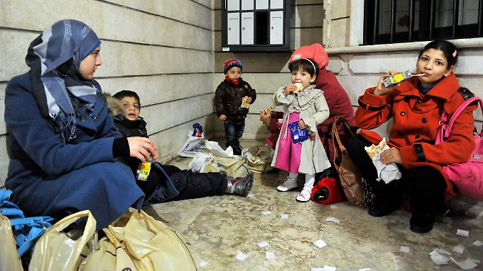 Syrische Flüchtlinge in Beirut: Berichte über korrupte Mitarbeiter der deutschen Botschaft machen die Runde. (Symbolbild)