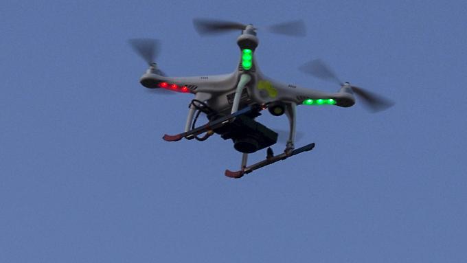 """Private Drohne in den USA: Dort gelten die Fluggeräte als das """"nächste große Ding""""."""