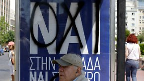 Kopf-an-Kopf-Rennen erwartet: Referendum verunsichert Griechen