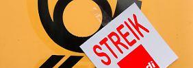 Deutschland durch Streik zweigeteilt: Viele Briefkästen bleiben seit vier Wochen leer