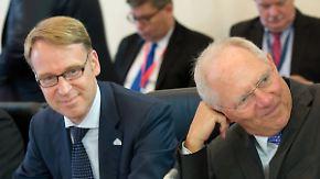 Bundesbank-Chef Weidmann warnt: Drohender Grexit gefährdet Schäubles Haushalt