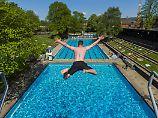 Schwimm nicht so weit raus!: Baderegeln, die sinnvoll sind