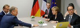"""Reaktionen nach dem Gipfel: """"Wäre ein schrecklicher, kollektiver Fehler"""""""