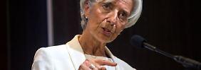 """Notwendiger"" Schritt: IWF-Chefin Lagarde fordert Umschuldung für Griechenland"