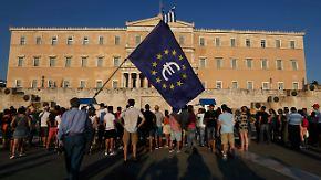 Hoffen auf drittes Hilfspaket: Griechenland reicht Reformliste in Brüssel ein