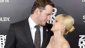 Anna Faris und Chris Pratt haben ihr Glück über Twitter geteilt. Foto: Michael Nelson