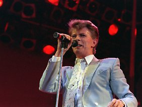 Bowie bei Live Aid 1985