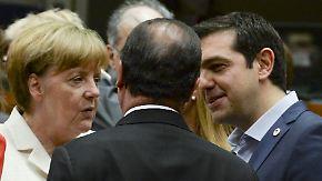 """Pokernacht in Brüssel: """"Grexit auf Zeit"""" ist vom Tisch"""