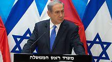 """Atom-Deal mit dem Iran: Netanjahu: """"Historischer Fehler für die Welt"""""""