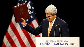 Historische Einigung: Atomstreit mit dem Iran nach 13 Jahren beigelegt