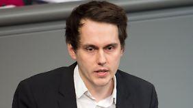 Sven-Christian Kindler ist haushaltspolitischer Sprecher der Grünen im Bundestag.