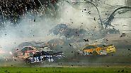 Drama, Emotionen, Kurioses: Djokovic frisst Gras, spektakulärer Crash