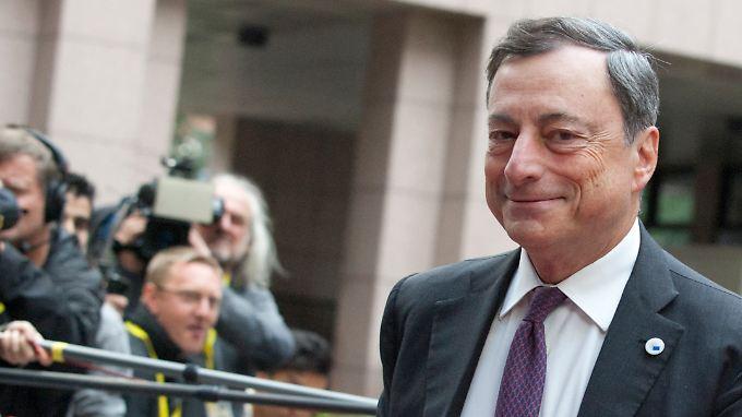 Der Tag des Mario Draghi.