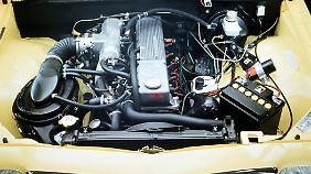 Für die Basis, den Rekord, gab es ausschließlich Vierzylinder mit maximal zwei Litern Hubraum und 100 PS.