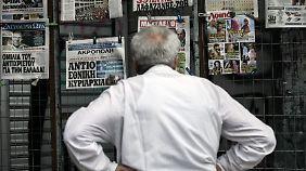 """Gedrückte Stimmung in Athen: """"Kein anderes Land steckt so tief im Schlamassel"""""""