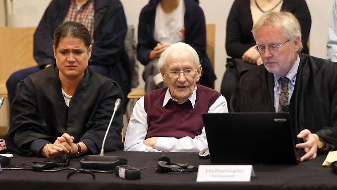 Vor Kurzem war der ehemalige SS-Mann Gröning von einem Gericht wegen Beihilfe zum Mord in Auschwitz verurteilt worden.