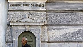 Bankensystem in Griechenland: Experten spekulieren über Fusionen als Rettungsplan