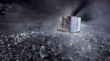 """Sonde von Gasausstoß getroffen?: Forscher bangen um """"Philae"""""""