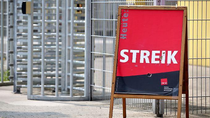 In Deutschland wird in diesem Jahr rekordverdächtig viel gestreikt. Die meisten Streiktage gehen auf das Konto von Verdi.