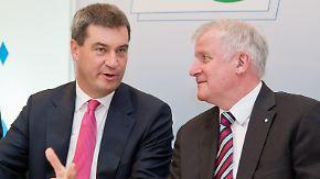 Nachfolge-Debatte in der CSU: Seehofer ist genervt von Söder