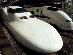 """Ein """"normaler"""" Shinkansen, er fährt seit Jahren erfolgreich und pannenfrei."""