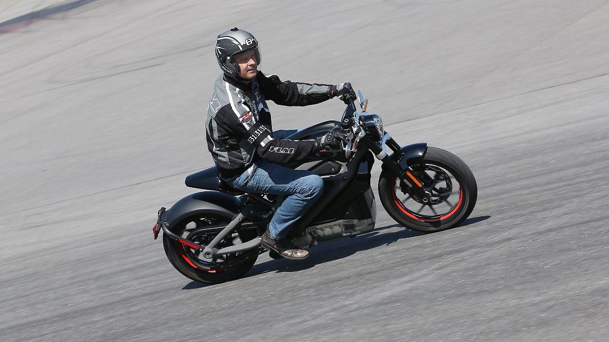 Harleys elektrisches Katapult