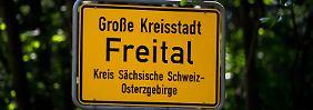 Explosion in Freital: Anschlag auf Auto von Kommunalpolitiker