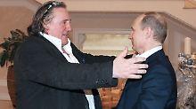 """Bedrohung für nationale Sicherheit"": Ukraine verhängt Filmverbot gegen Depardieu"