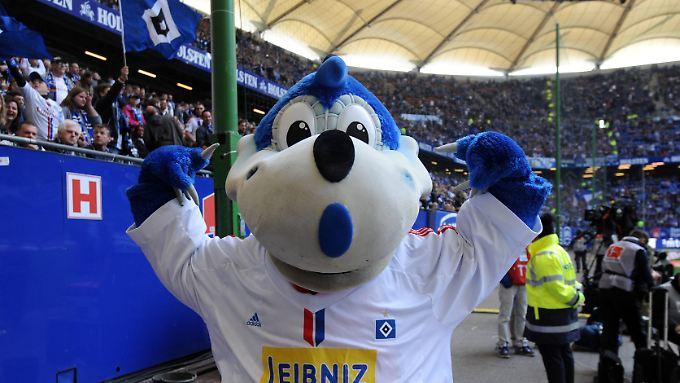 Dino Hermann zeigt's an: Der HSV will endlich wieder Stärke demonstrieren.