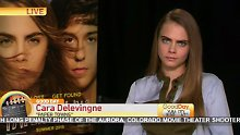 """Mach mal ein Nickerchen"": Cara Delevingne erlebt Horror-Interview"